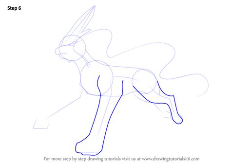 Learn How To Draw Suicune From Step By