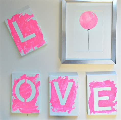 painting craft for beautiful diy canvas with in 4 easy steps