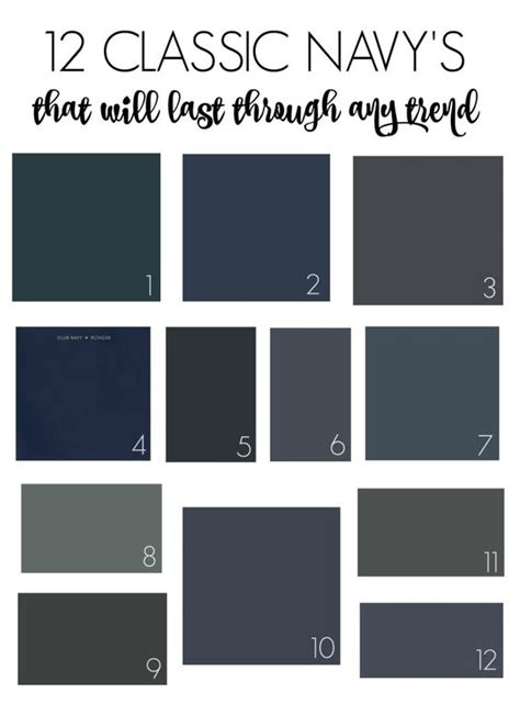behr paint colors navy blue 12 classic navys that will last through any trend navy
