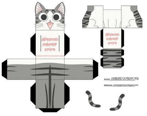 cat paper craft 17 best images about papercraft cat on