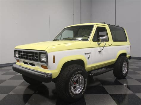 how cars engines work 1988 ford bronco security system 1988 ford bronco ii streetside classics the nation s trusted classic car consignment dealer