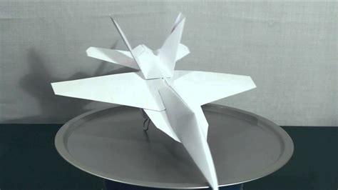 origami f 18 paper jet quot f 18 hornet quot assault squadron