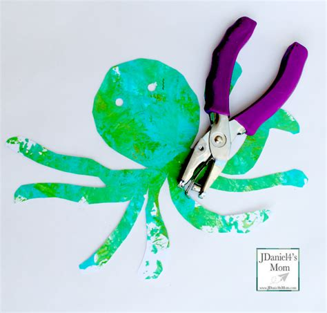 octopus paper plate craft paper plate octopus arts and crafts