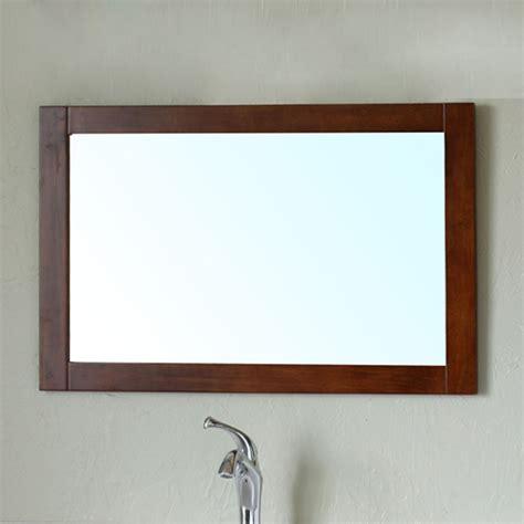 frame for bathroom mirror bellaterra 203129 mirror w walnut bathroom mirror with