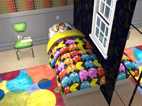 mod the sims bold bed blankets
