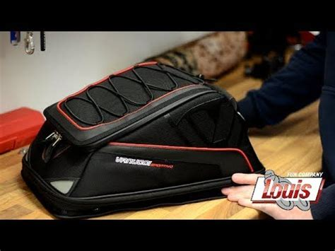Louis Motorrad Youtube by The Vanucci Vs05 Tail Bag From Louis Motorrad Youtube