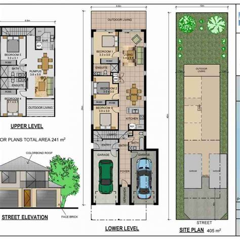 home plans for narrow lot house plans for narrow lots best home decorating ideas
