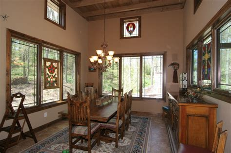 southwestern dining room southwestern style home traditional dining room