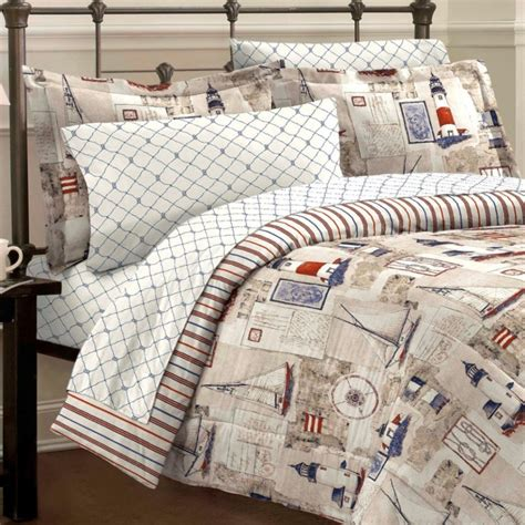 nautical bed in a bag sets nautical comforter set cape cod sailing whyrll