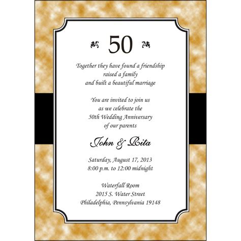 personalized invitations personalized anniversary invitations personalized