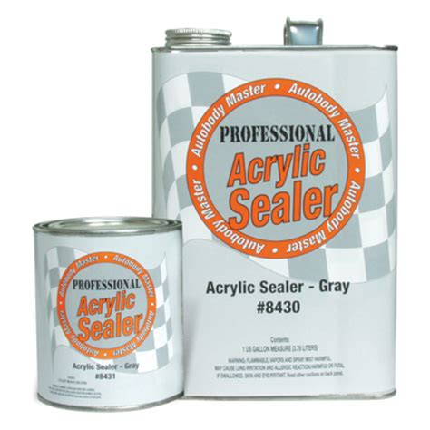 do i need to seal acrylic paint on canvas autobody master all products