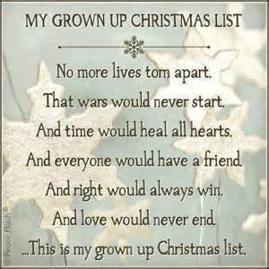 my list my wish list mind chatter