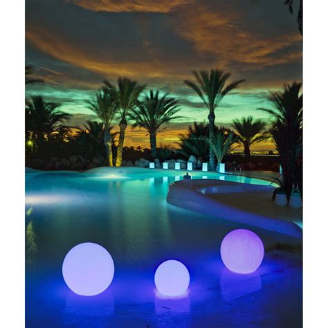 boule d 233 corative buly 40 cm led int 233 gr 233 e couleurs