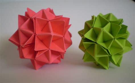 Origami Maniacs Origami Spiky Cuboctahedron Spike