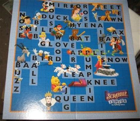 scrabble junior disney scrabble junior the disney edition 2004