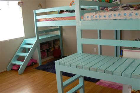 build bunk bed stairs build bunk bed with stairs image mag