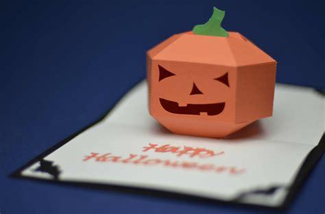 make pop up cards pop up card 3d pumpkin tutorial creative pop