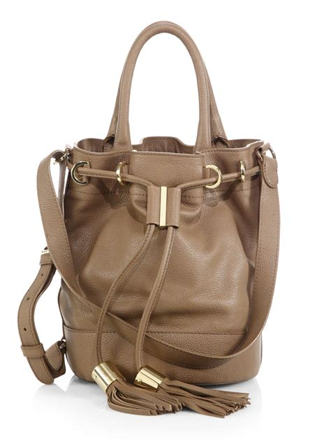 bag with see by chlo 233 vicki handcarry leather bag in brown
