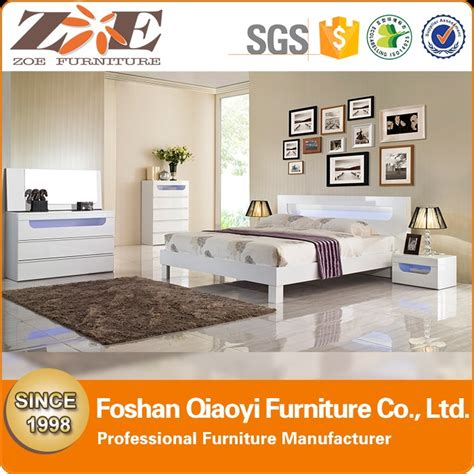 white high gloss bedroom furniture sets high gloss white bedroom furniture set with led light