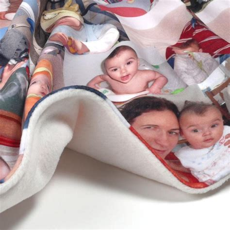 photograph blanket personalised blankets photo blankets custom baby