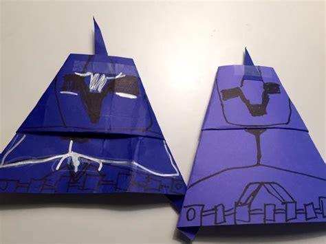 origami yoda dwight clone comandos origami yoda