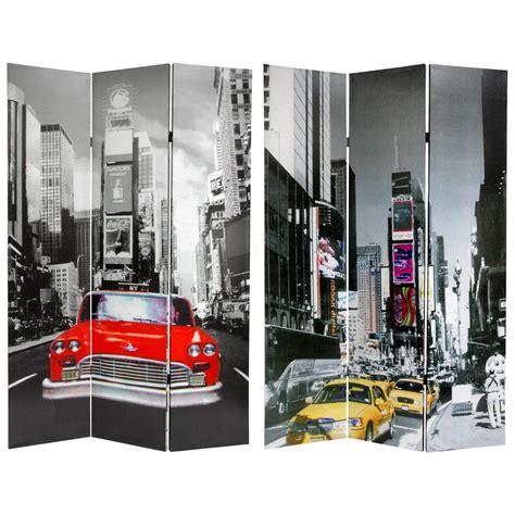 room dividers nyc 6 ft new york city taxi room divider roomdividers