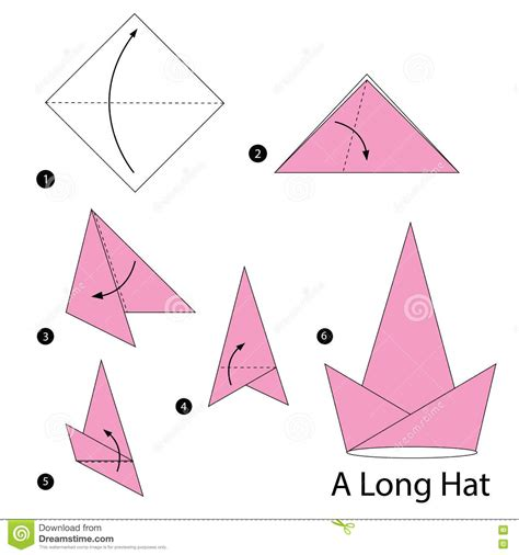 how to make an origami hat step by step how to make origami a hat