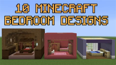 how to design your room 10 minecraft bedroom designs