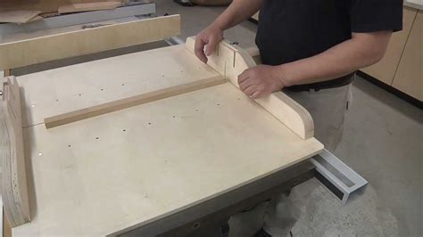 william ng woodworking 5 cuts to a quot quot cross cut sled