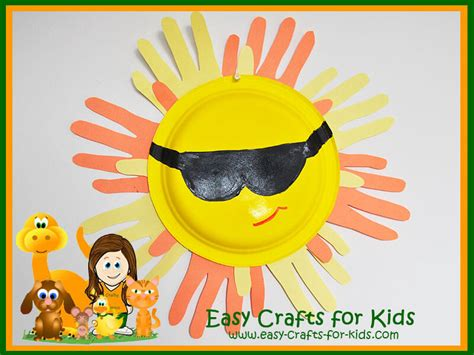 crafts for summer summer craft ideas for