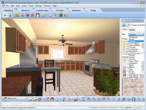 hgtv home design and remodeling suite software hgtv home design software working with the materials