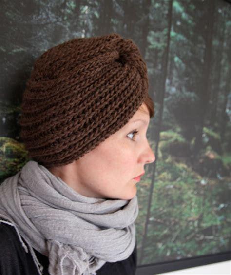 how to knit a turban hat knit turban pattern a knitting
