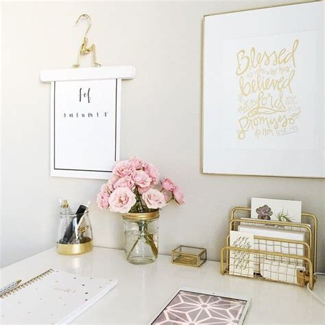 gold decor 25 best ideas about gold desk accessories on