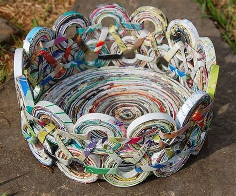 recycled newspaper crafts for 25 best ideas about newspaper crafts on book