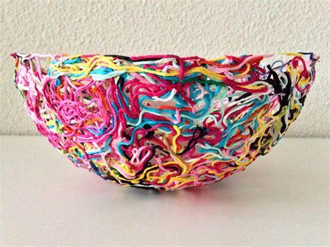 yarn craft projects yarn ends bowl marrose ccc
