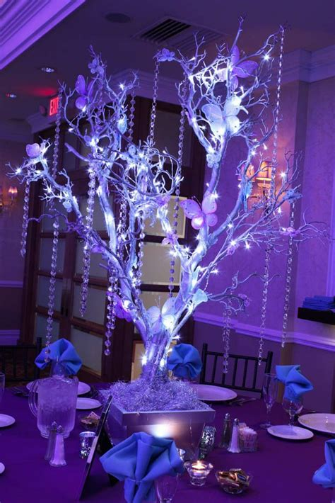 branches with lights centerpiece 1014 best centerpieces bring on the bling crystals