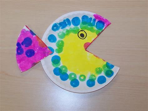paper plate fish craft my montessori journey paper plate fish