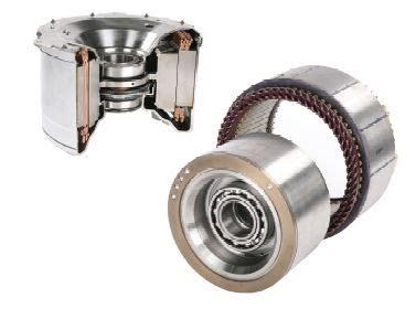 Automotive Electric Motor by Remy Hvh 250 Motor Will Drive Odyne S In Hybrid Trucks