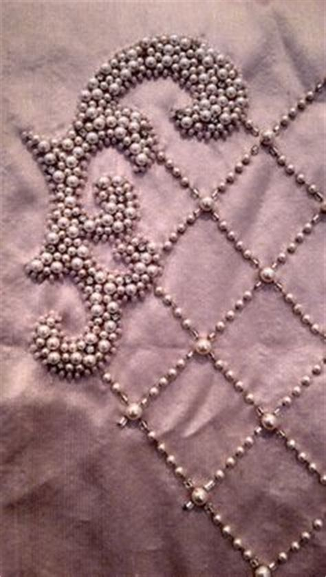 how to bead on fabric 1000 ideas about pearl embroidery on gold