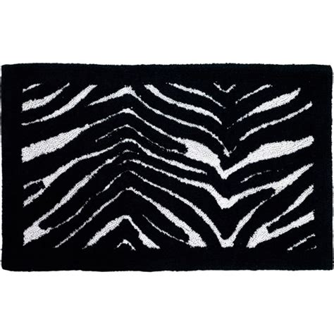zebra bathroom rugs creative bath zebra cotton bath rug striped 21 quot x 34