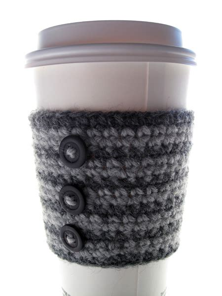 free knitting pattern coffee cup sleeve coffee cozy crochet cup free pattern crochet patterns