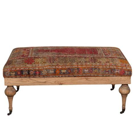 kilim upholstered ottoman 1000 ideas about kilim ottoman on kilim