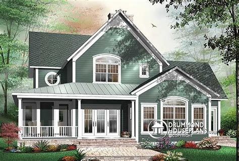 house plans with rear view 4 bedroom house plans blended families drummond house plans