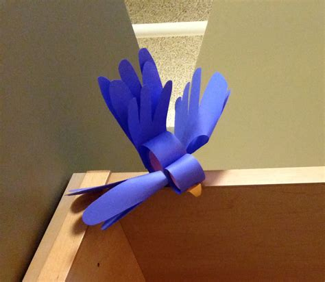 how to make parrot with craft paper librarian on display crafts diy paper bird