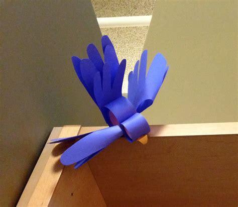 paper bird craft librarian on display crafts diy paper bird