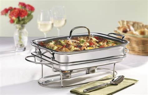 buffet server warm food on your buffet visionary events design