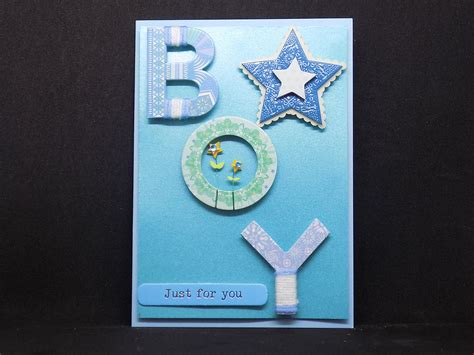 card by new baby boy card handmade cards shropshire