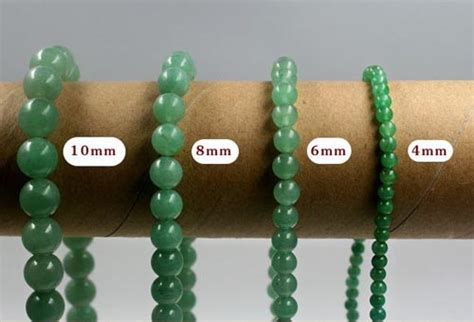 10mm bead actual size 1 strand or 5 strand green aventurine bead 4mm 6mm