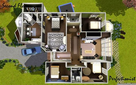 sims 3 4 bedroom house design mod the sims 5 bedroom european style house ts3