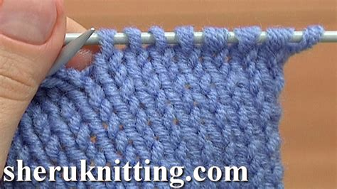 how to back stitch knitting how to knit the knit stitch tutorial 2 method 1 of 2 knit